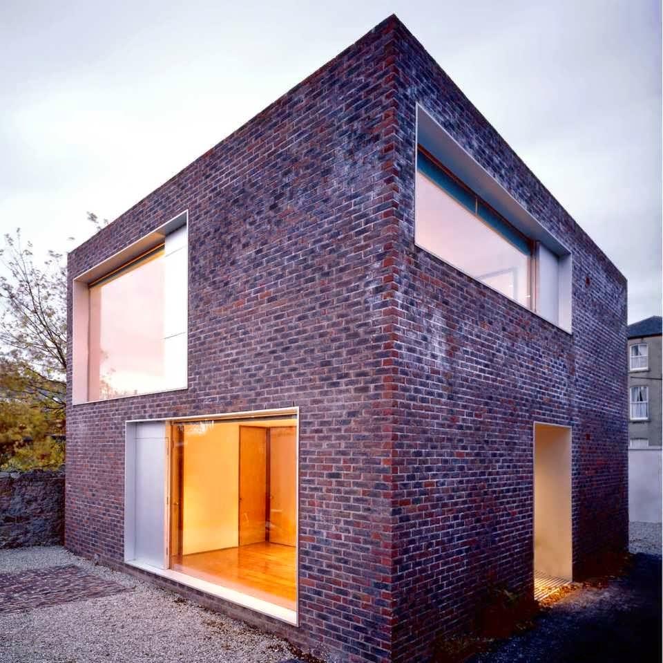 D Purple Square Box House Minimalist Design Make Simple And Elegant