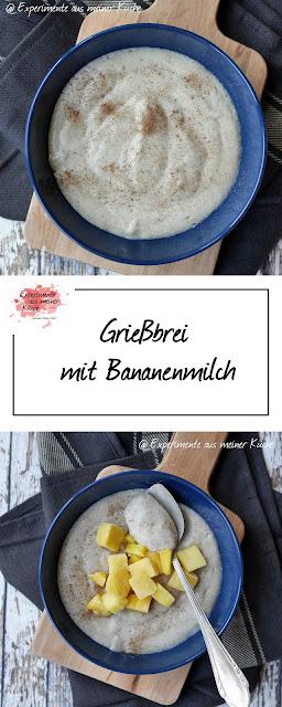 Grießbrei mit Bananenmilch | Weight Watchers | Kochen | Rezept