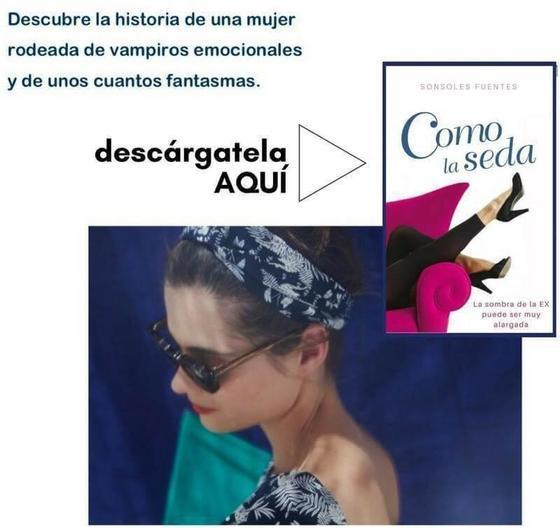 descarga aquí la novela Como la seda, de Sonsoles Fuentes