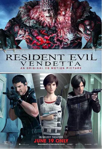 Resident Evil: Vendetta (2017) 720p y 1080p WEBRip mkv Dual Audio AC3 5.1 ch