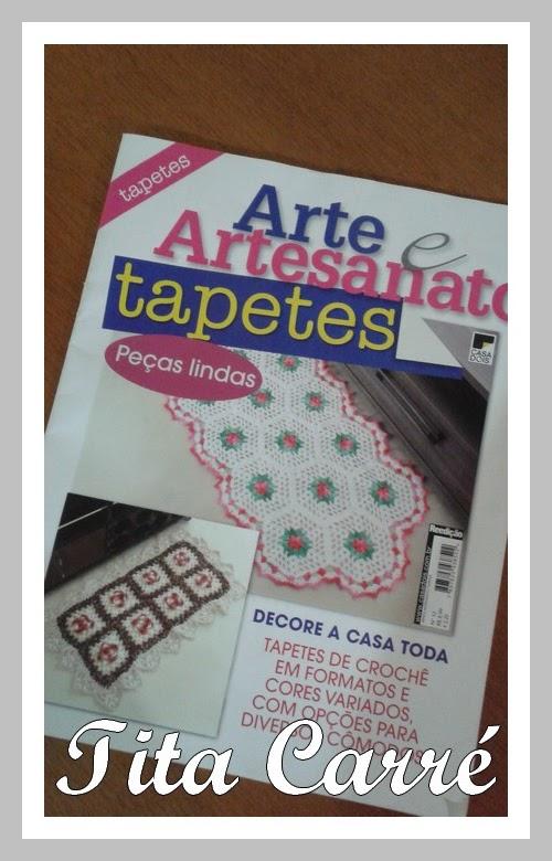 Tita Carré em mais uma Revista