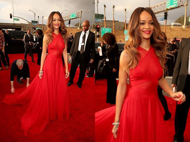 Grammys: Team Mode: Red Carpet: Grammy Awards 2013