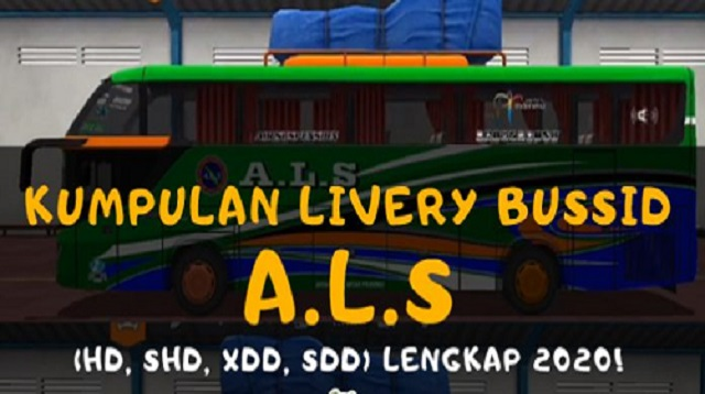Livery Bussid ALS