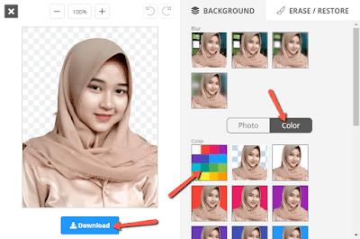 Cara Mudah Membuat Pas Foto di HP Tanpa Aplikasi