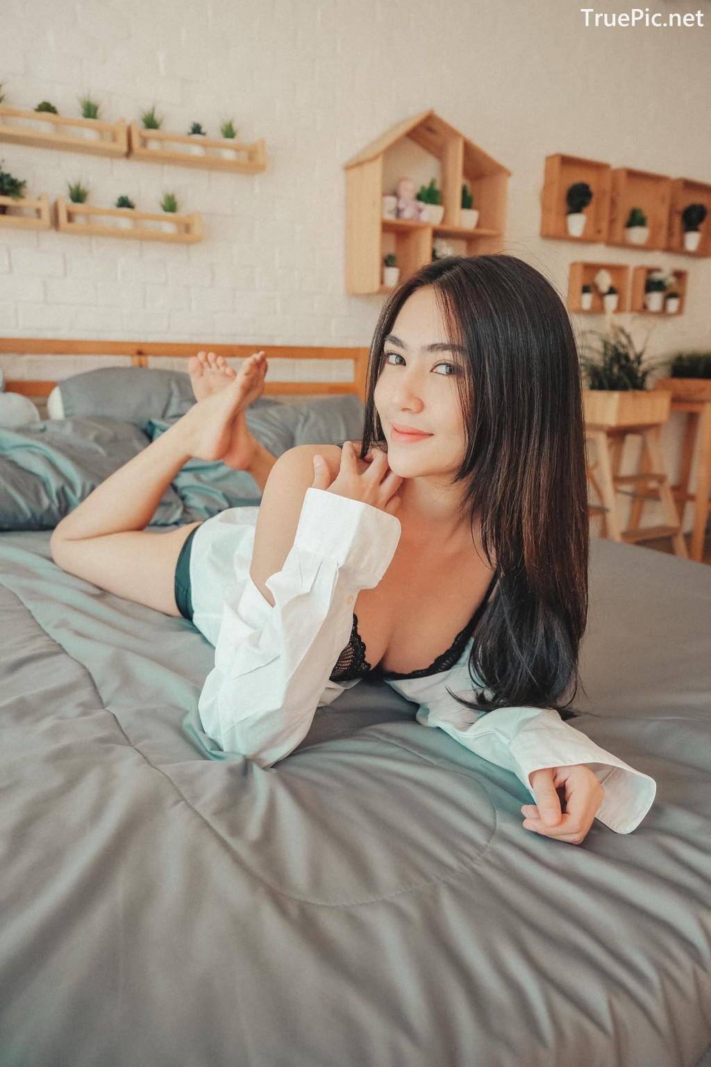 Image Thailand Sexy Model – Baifern Rinrucha Kamnark – Black Lingerie - TruePic.net - Picture-5