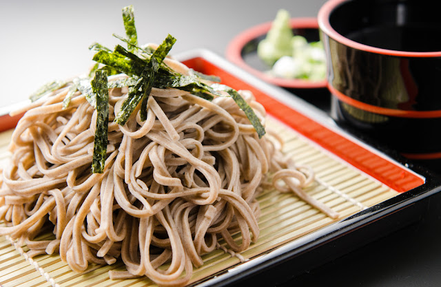soba japan noodle