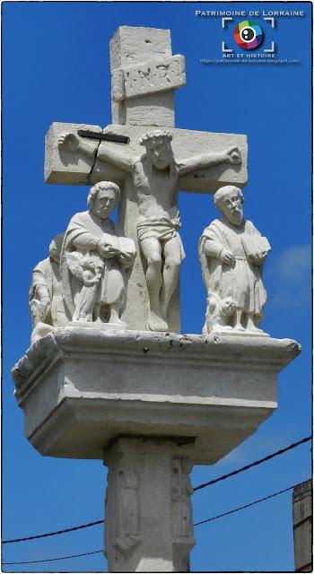 CHATENOIS (88) - Croix de Valaincourt (Fin XVIe siècle)