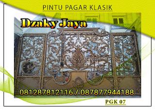 Model pintu, gerbang, pagar, besi, tempa, klasik, mewah 07
