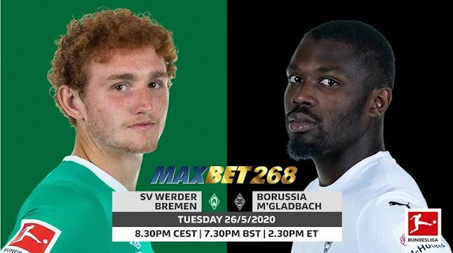 Prediksi Werder Bremen Vs Borussia Monchengladbach, Rabu 27 Mei 2020 Pukul 01.30 WIB