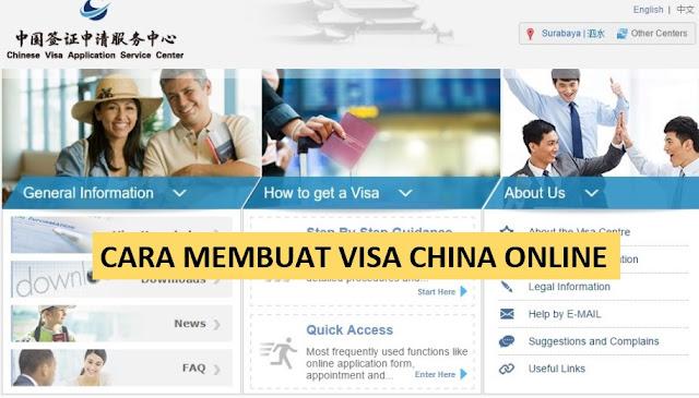 CARA MEMBUAT VISA CHINA ONLINE