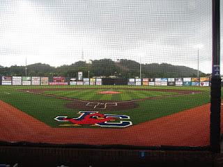 Home to center, TVA Credit Union Ballpark