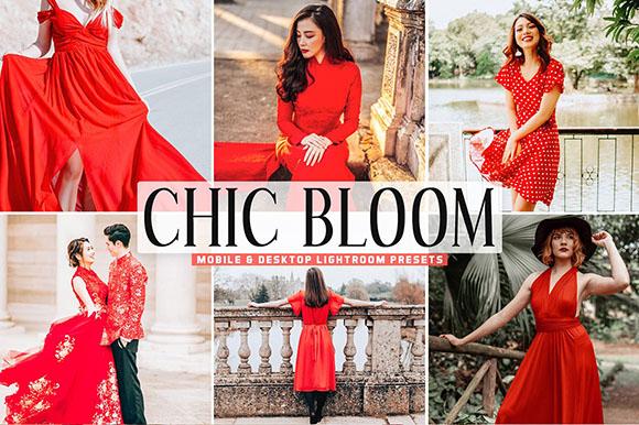 Preset Chic Bloom Pro Lightroom làm sáng ảnh(Mobile/Desktop)
