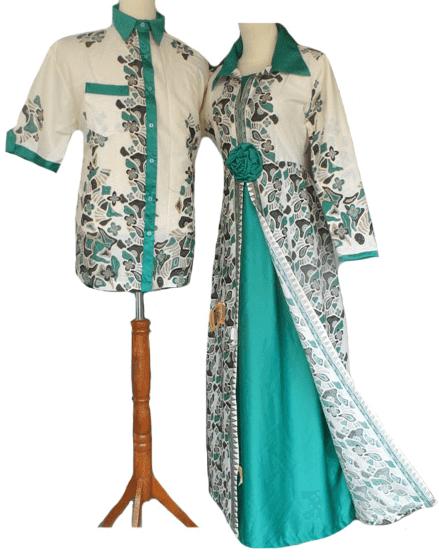 Contoh Model Gamis Batik Kombinasi Terbaru Saat Ini  Trend Model