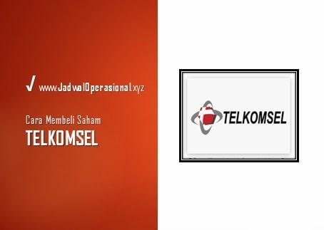 Cara Membeli Saham Telkomsel