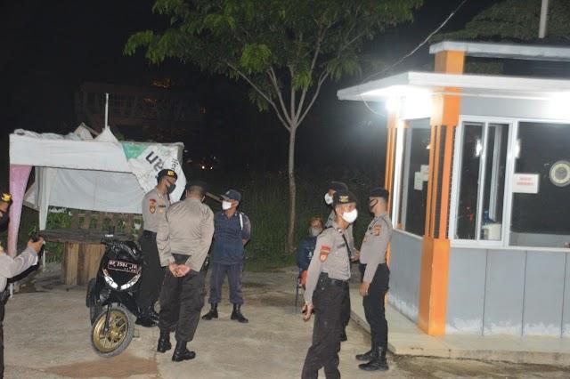 Tim Satgas Pencegahan Ops Aman Nusa II Penanggulangan Covid 19 Seligi 2020 Laksanakan Patroli Dialogis, Kembali Memberikan Himbauan Di Wilayah Batu Aji Dan Sekitarnya
