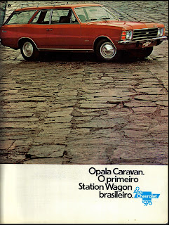 propaganda chevrolet Opala Caravan - 1975.  brazilian advertising cars in the 70. os anos 70. história da década de 70; Brazil in the 70s; propaganda carros anos 70; Oswaldo Hernandez;