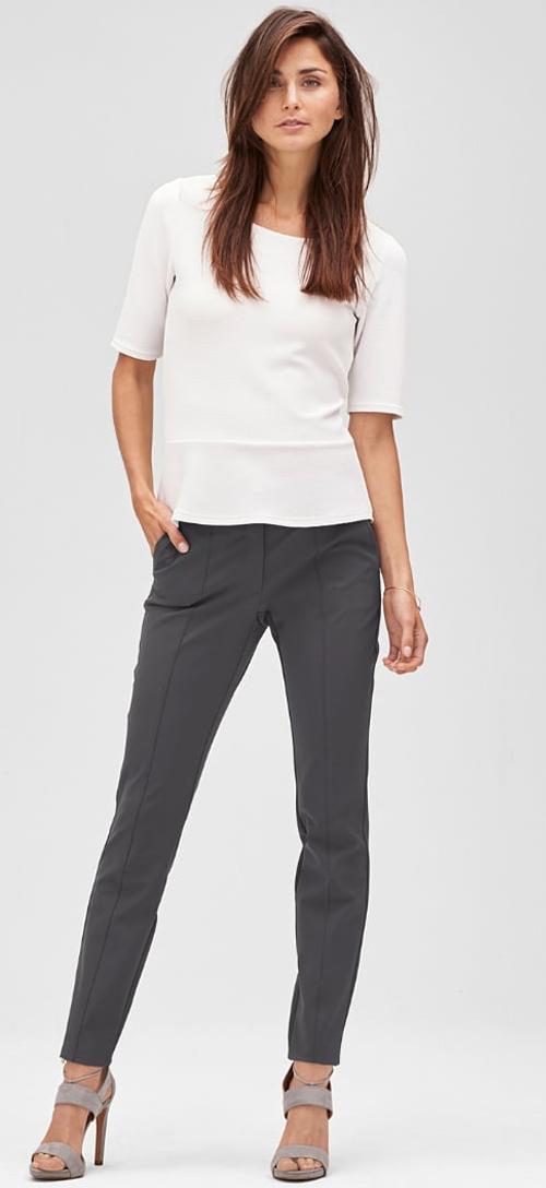 Pantalon femme chic gris s.Oliver