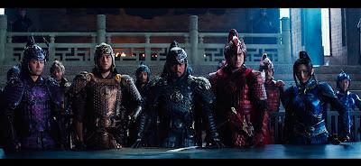 Los generales de las distintas divisiones, espectaculares sus armaduras.