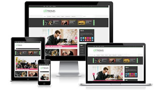 Extremis blogger template