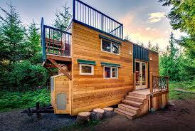 10 Desain Rumah Semi Permanen Minimalis Terbaru 2018 8