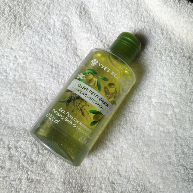 Beauty Product Review | Yves Rocher's Olive Petit Grain Shower Gel