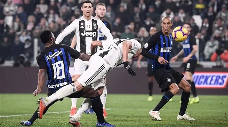 موعد مباراة يوفنتوس وانتر ميلان نصف نهائي كأس ايطاليا