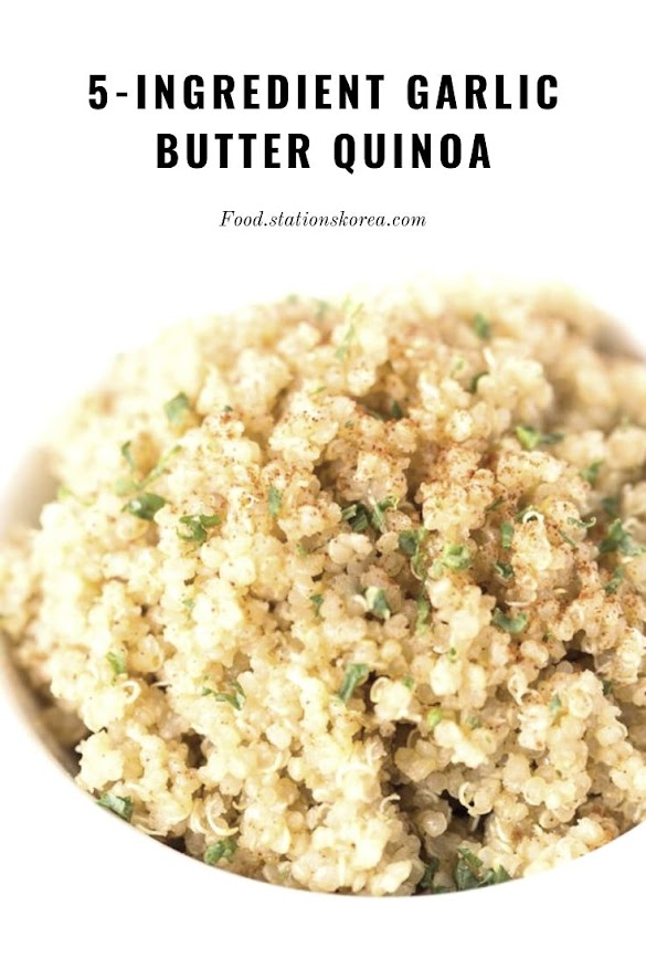 5-Ingredient Garlic Butter Quinoa