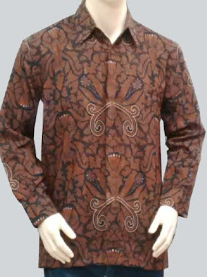 harga baju batik pria di tanah abang