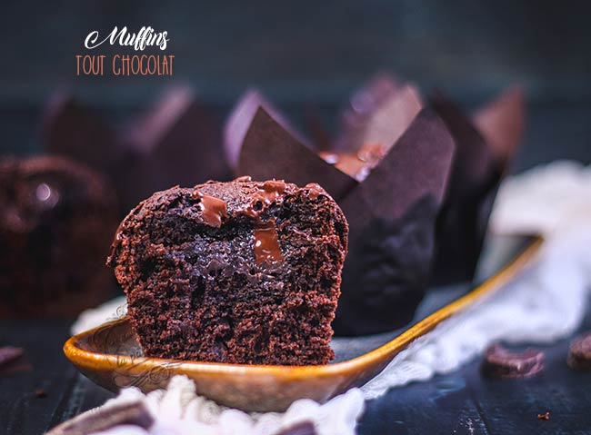 muffin chocolat recette