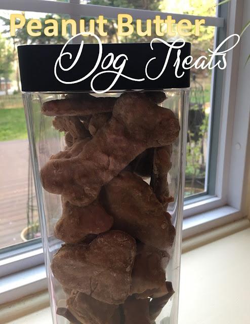 Harris Sisters GirlTalk: Homemade Peanut Butter Dog Treats