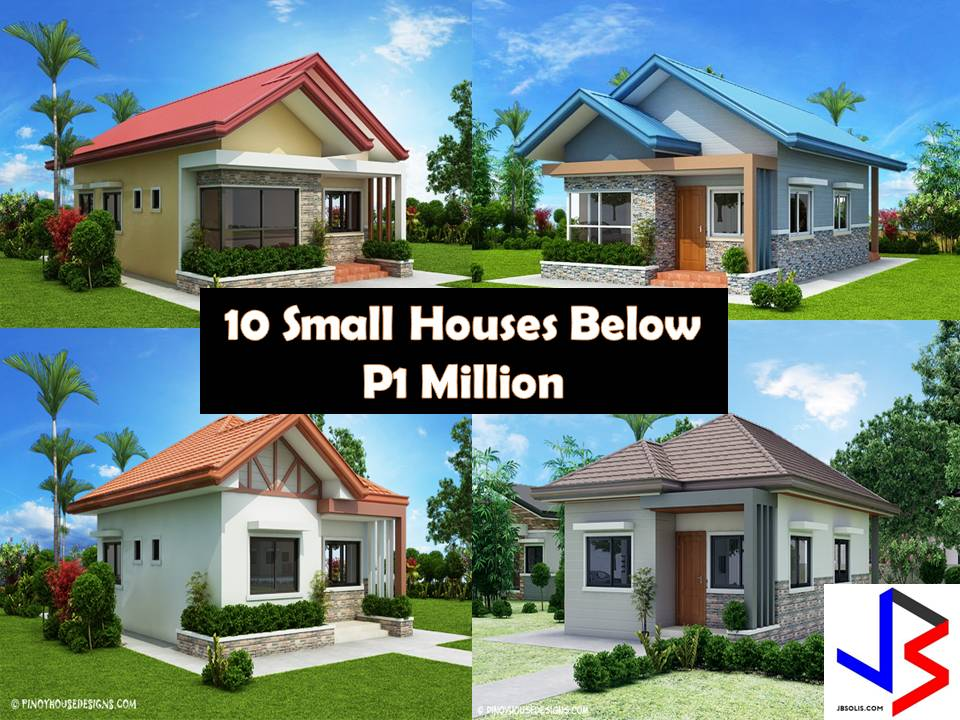 10 small home blueprints and floor plans for your budget below p1 million Home design and layout