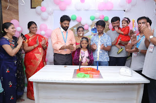 CMD Sir's Daughter Apple Birthday Celebrations at Honeyy Group