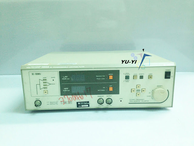 NF 3660A HF Programmable Low-pass Filter