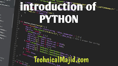 introducation of Python in hindi