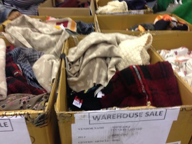 Aritzia Warehouse Sale 2017 blanket scarves