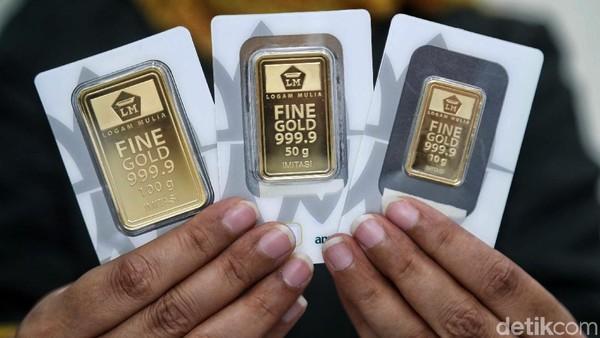 Harga Emas Antam Cetak Rekor Tertinggi Sepanjang Sejarah!