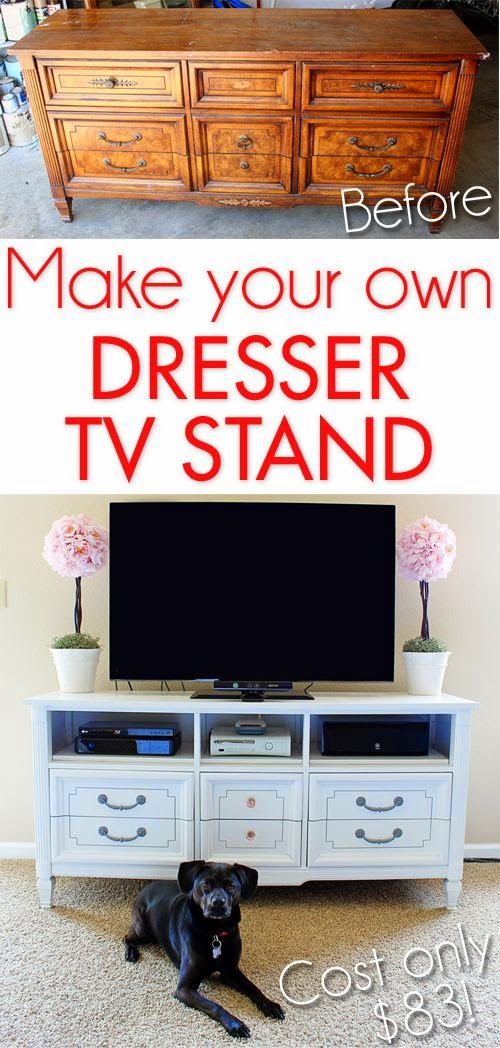 19 DIY Furniture Makeovers | Do it yourself ideas and projects