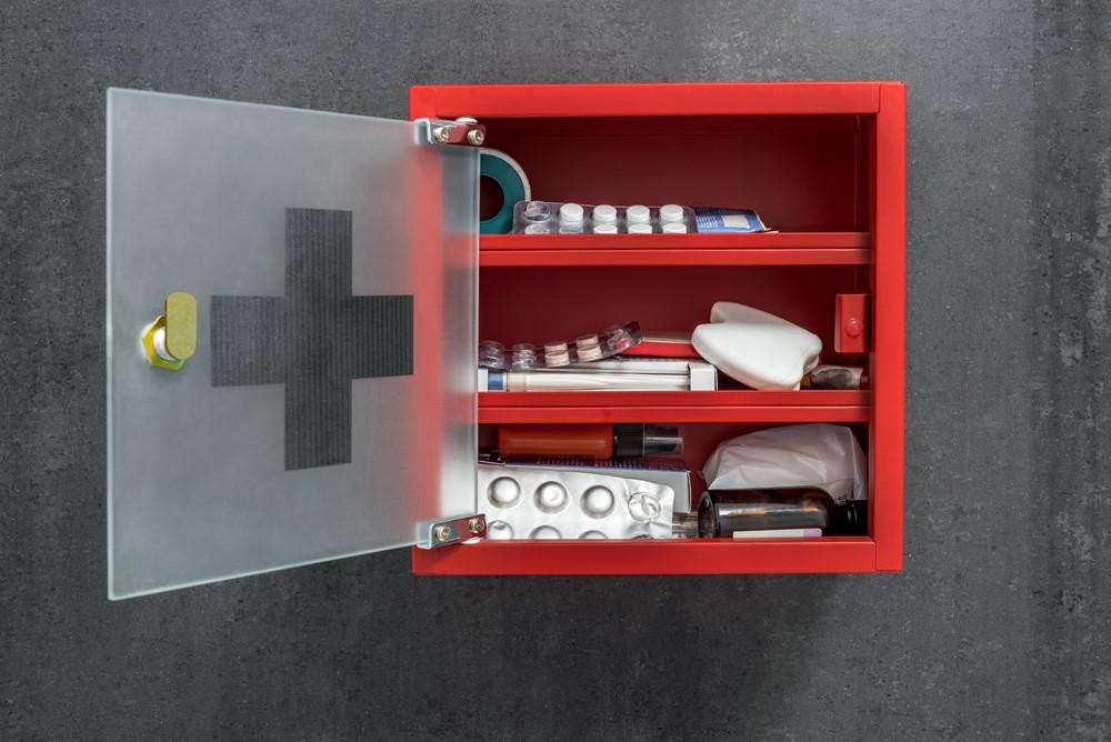 domowa apteczka dla dziecka leki