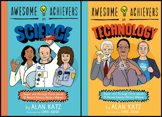 review of Awesome Achievers in Science and Awesome Achievers in Technology by Alan Katz