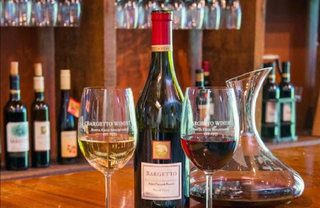 Noite nas vinícolas em Santa Cruz