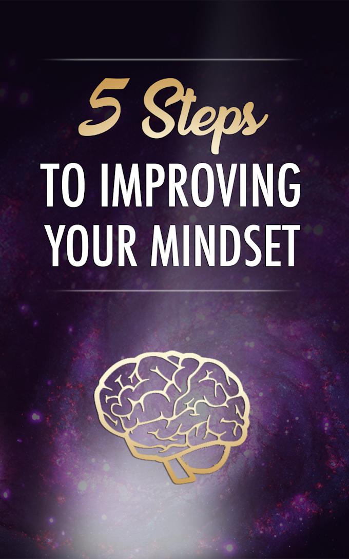 5 Steps Impovng Mindset - Free Plr