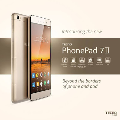 Tecno PhonePad II Price, full Features and specification