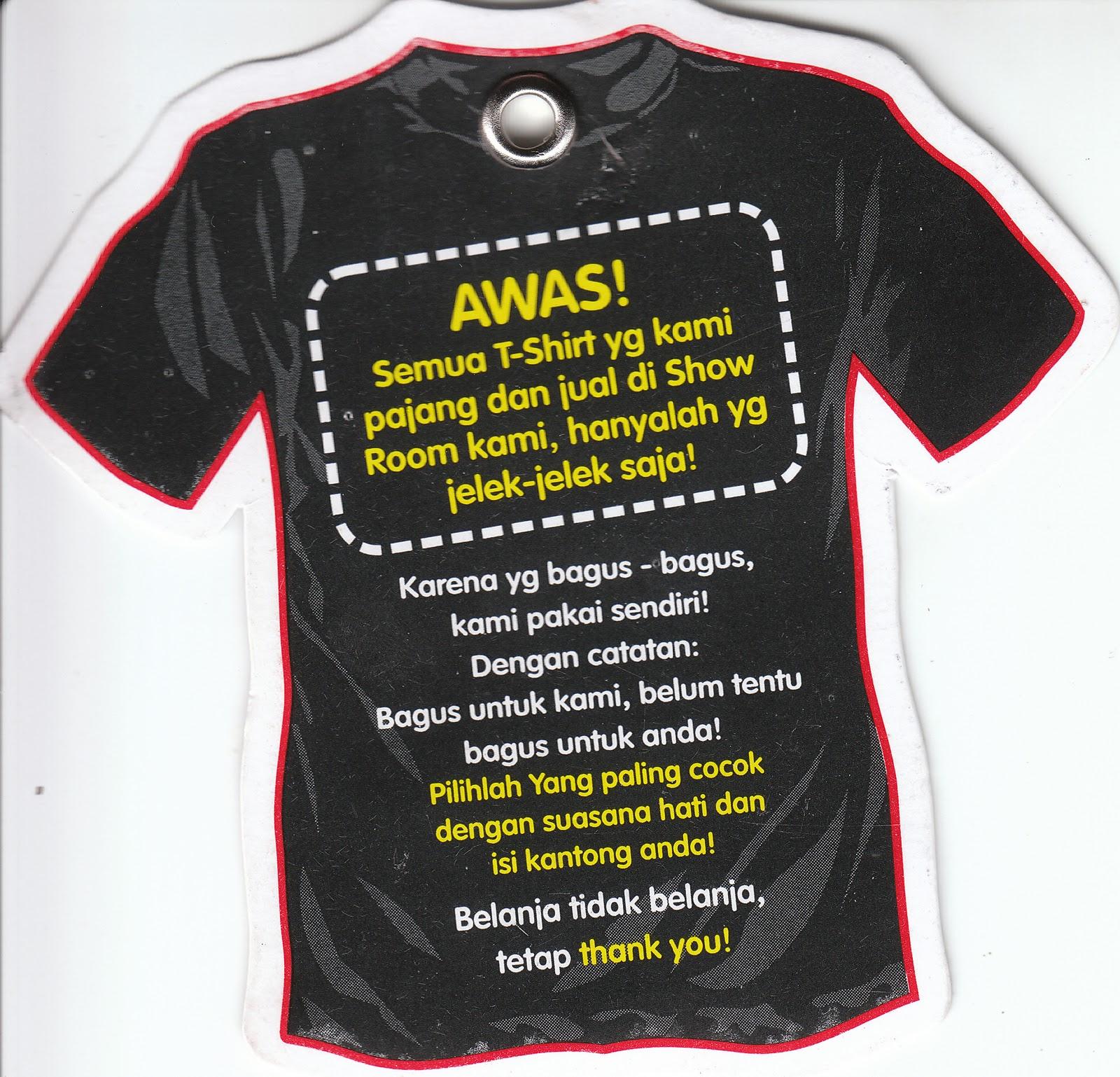 Hikari Kaos Kaos Unik Made In Indonesia