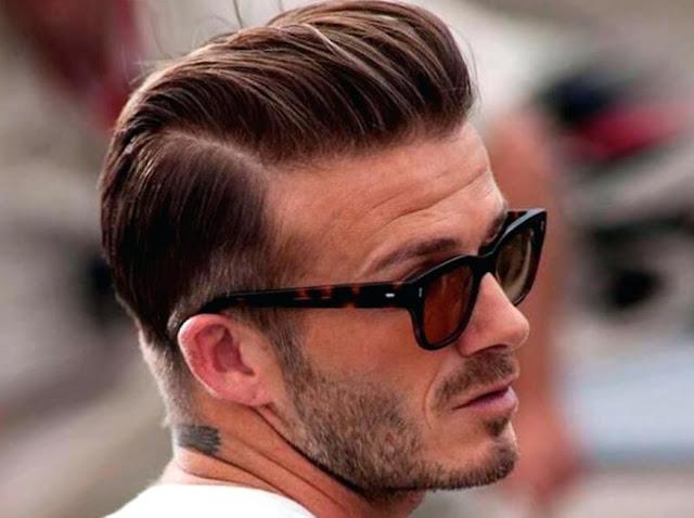 Potongan rambut pria undercut