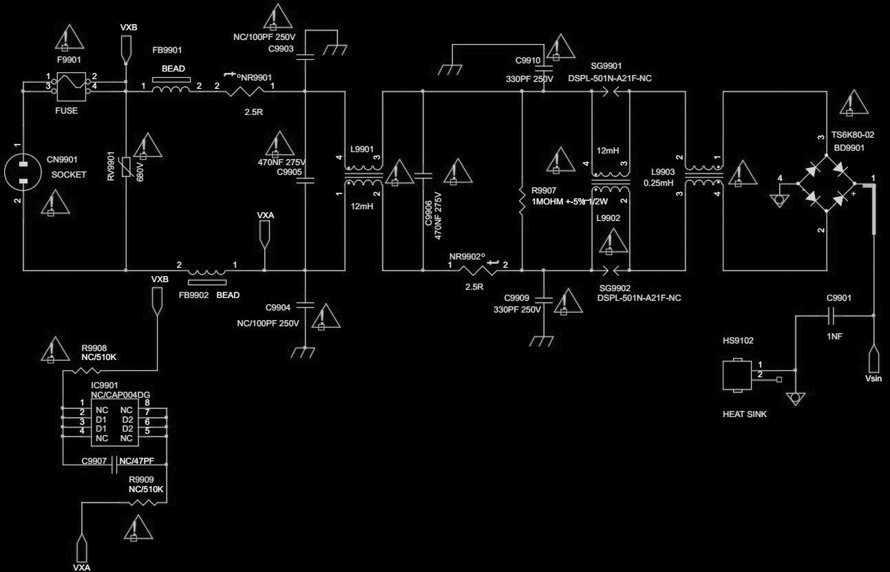 Philips 715g6163 Smps Schematic Circuit Diagram Electro Help Wiring 250v Click On The Schematics To Magnify