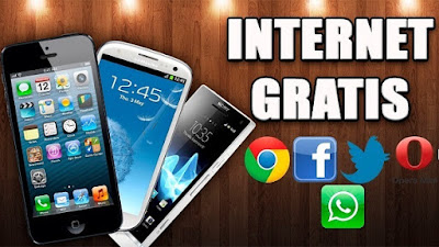 Aplikasi internet gratis Android All Operator