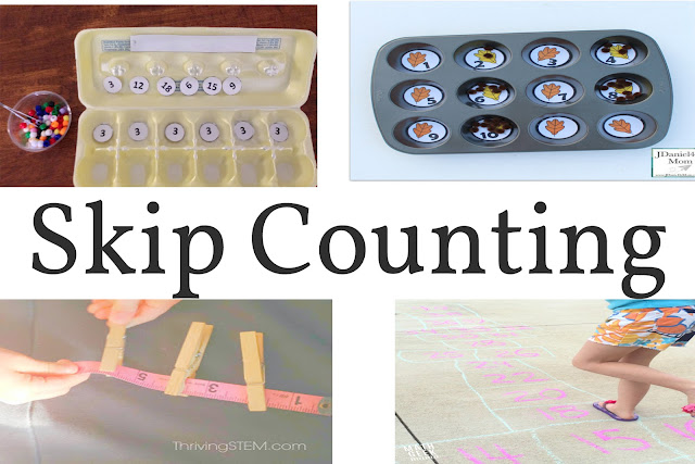Skip counting can serve as the basis or the means for recalling times tables