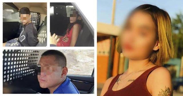 VIDEO-. Danna apenas tenía 16 años, la torturaron, mataron y calcinaron en plena vía publica en pleno dia, momentos después fueron localizados y capturados