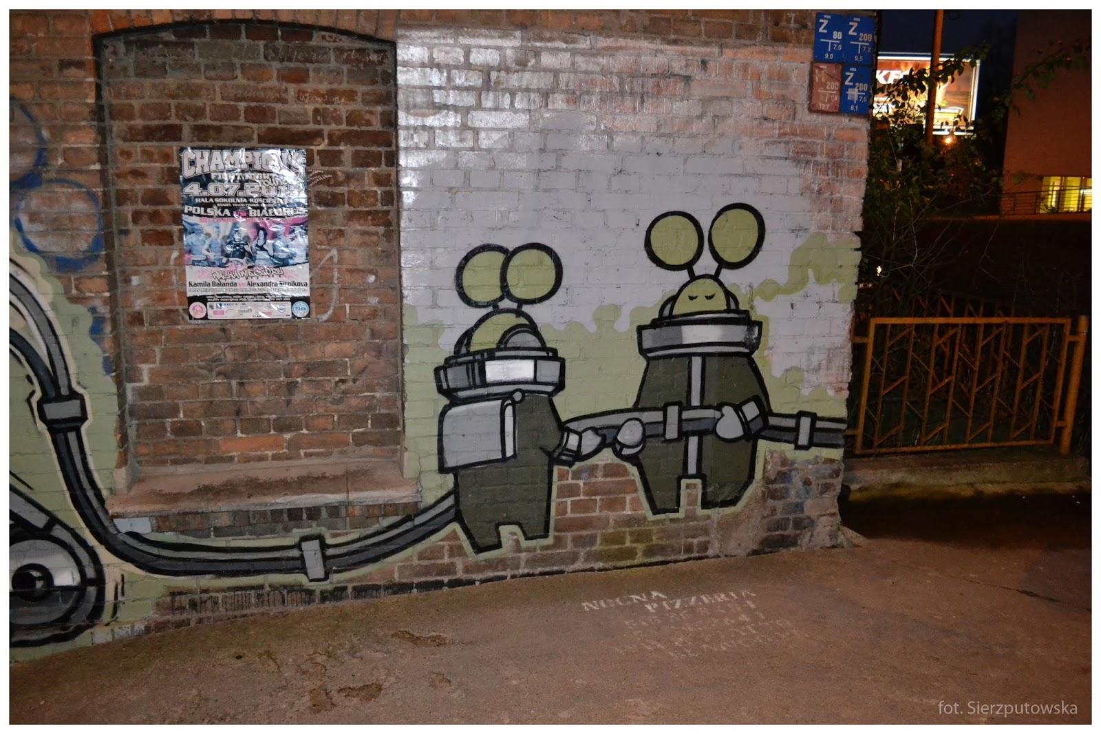 Street Art Czyli Sztuka Ludowa Kosmiczne Graffiti Uwaga Inwazja W