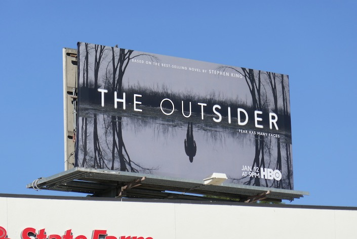 Outsider TV series billboard